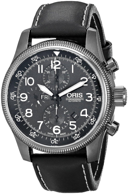 オリス Oris Men's 67576484234LS Big Crown Analog Display Swiss Automatic Black Watch [並行輸入品] B010NEZMNC