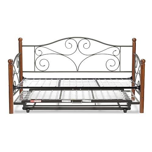 daybed with pop up trundle. Black Bedroom Furniture Sets. Home Design Ideas