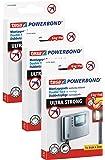tesa doppelseitige Montagepads, Powerbond ULTRA STRONG, hält max. 6 kg, 9 Stück (3, Montagepads   Powerbond ULTRA STRONG)