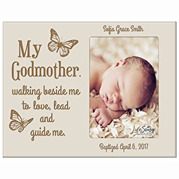 Amazon.com - Personalized Godmother Gifts from Godchild Baptism ...
