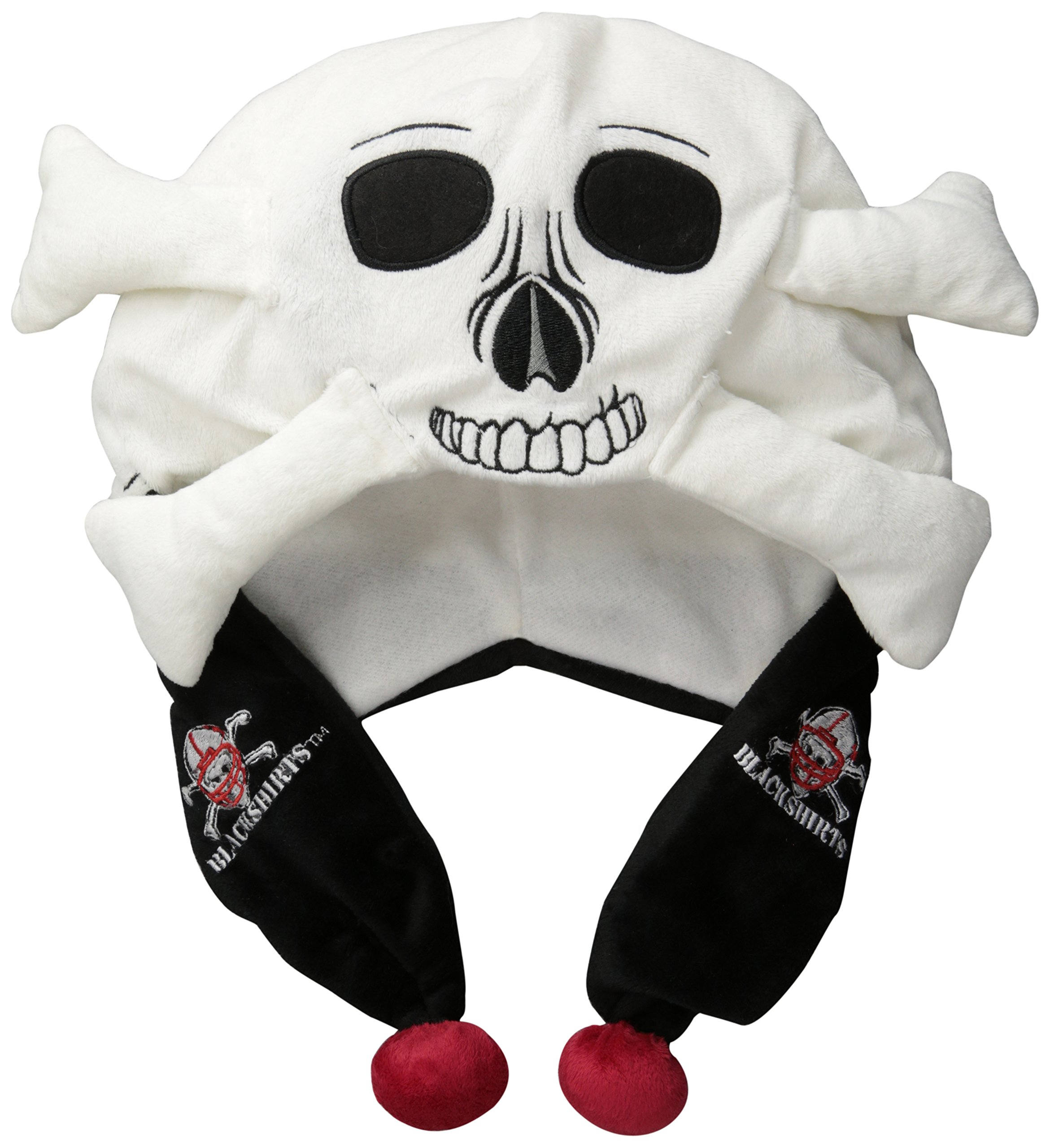 FOCO NCAA Nebraska Cornhuskers 2012 Mascot Blackshirts Short Thematic Hat