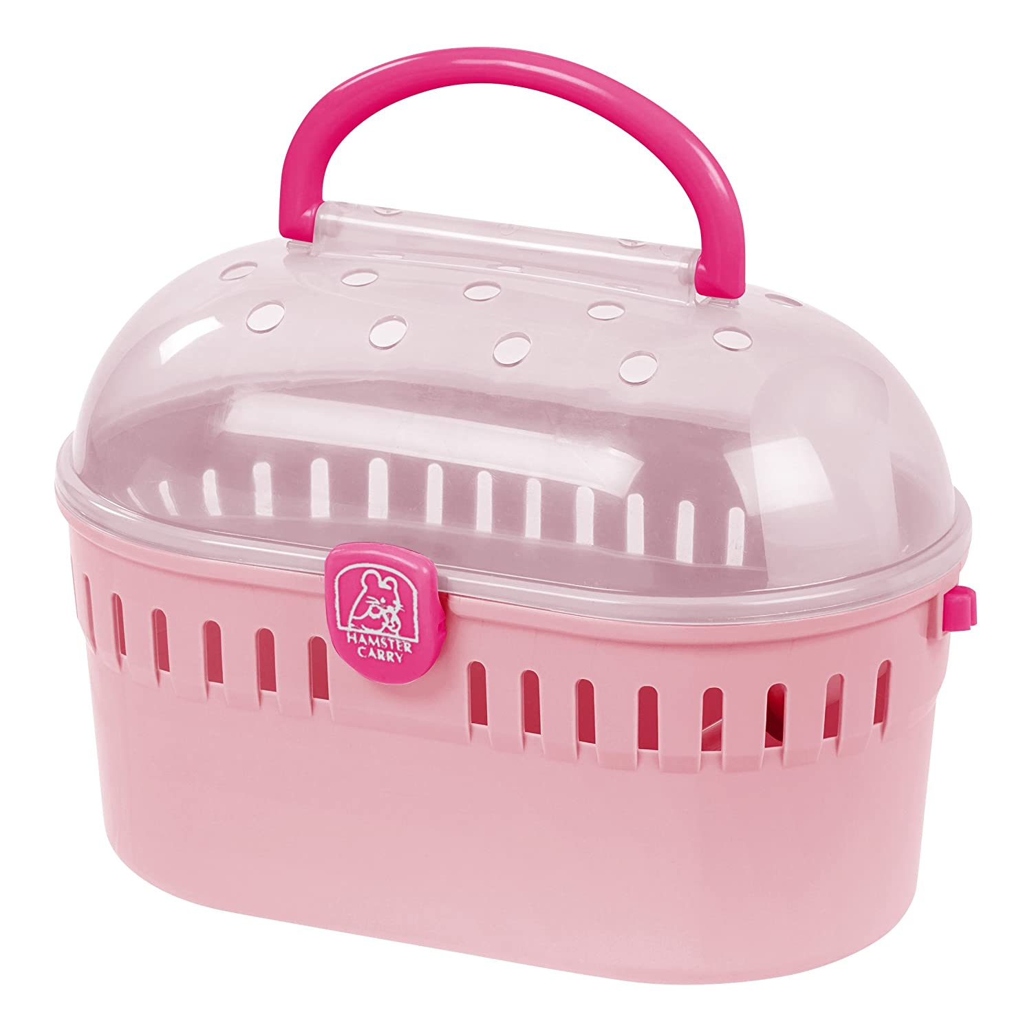 IRIS Extra Small Animal and Critter Carrier Pink IRIS USA 301190