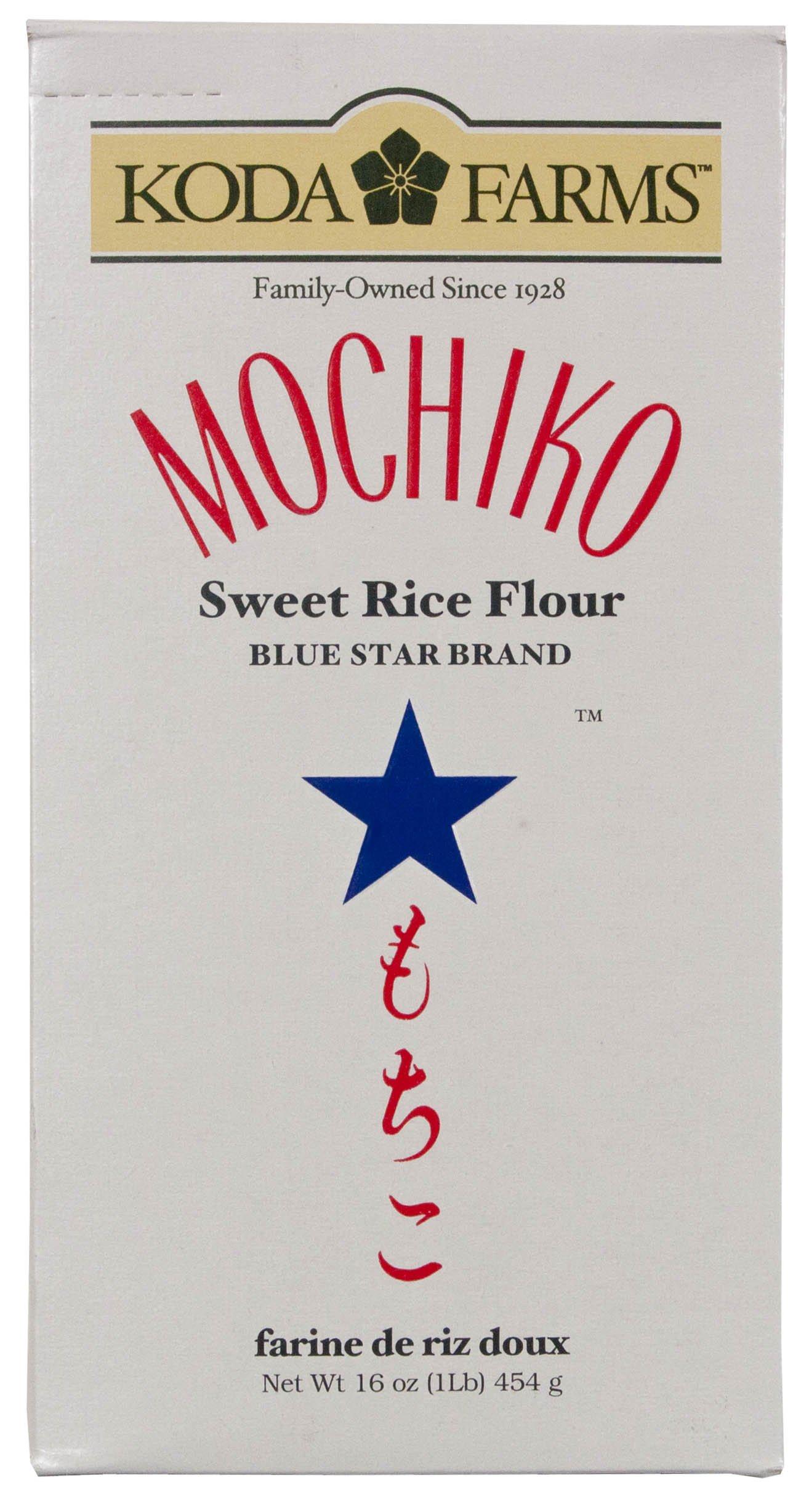 Koda Farms Mochiko Sweet Rice Flour, 16-Ounce (Pack of 9)