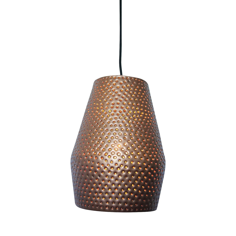 Urban Interiors Hängeleuchte mit Eisen-Spike, Kupfer, E27, 21 cm
