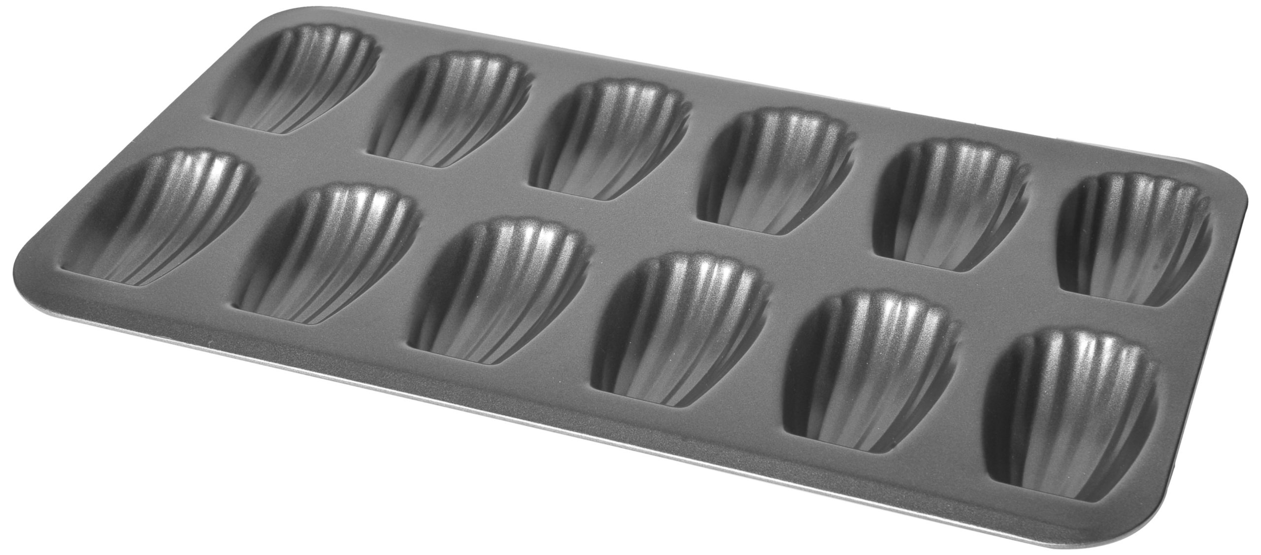 Chloe's Kitchen 203-167 Madeleine Pan, 12-Cavity by MDC Housewares Inc.