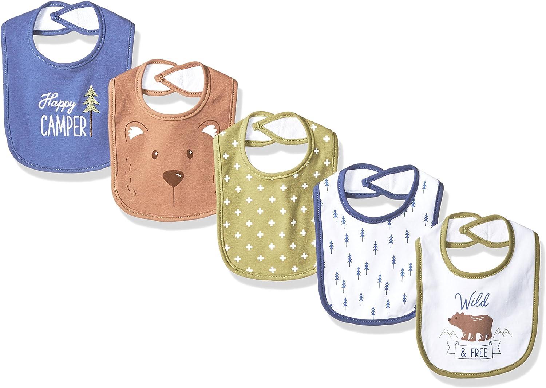 Hudson Baby Unisex Baby Cotton Bibs