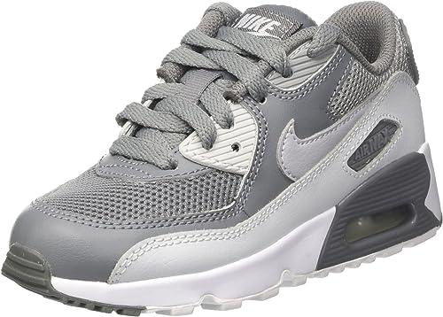 Nike Air Max 90 Mesh Ps, Zapatillas de Running Niños, Gris (Cool ...