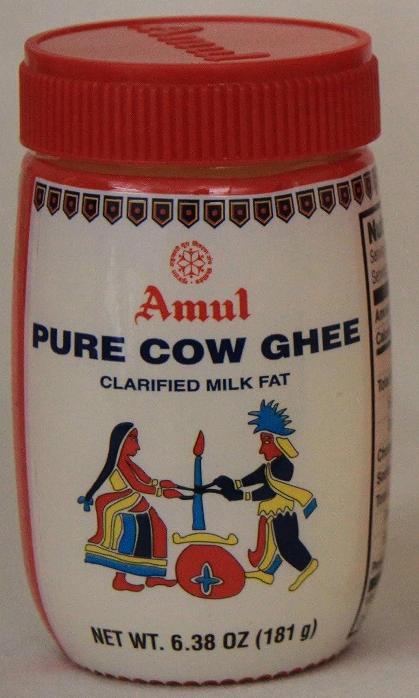 Amul Ghee (aclarar la mantequilla), aprobado por la FDA Jar ...