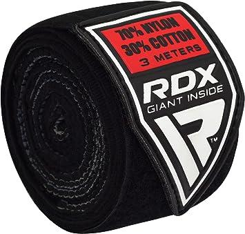 RDX Mujeres Elasticas Cinta Boxeo Vendas Mano Mu/ñeca Interiores MMA Envolturas Vendaje Kick Boxing