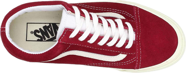 Vans U Old Skool, Baskets mode Homme Rouge
