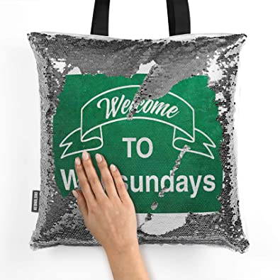 Amazon com: NEONBLOND Mermaid Tote Handbag Green Sign
