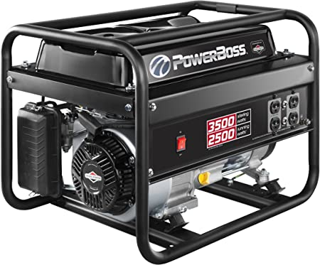 Amazon.com: PowerBoss generador a gasolina portátil ...
