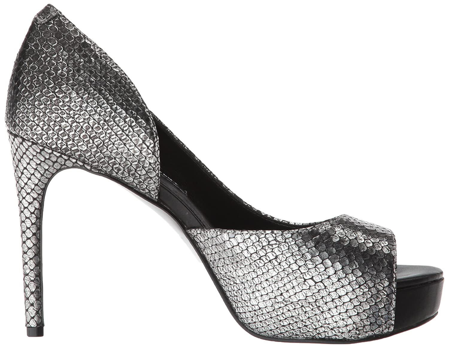 Nine West Women's Expensive B(M) Metallic Pump B077VZKP6K 8 B(M) Expensive US|Silver e61594