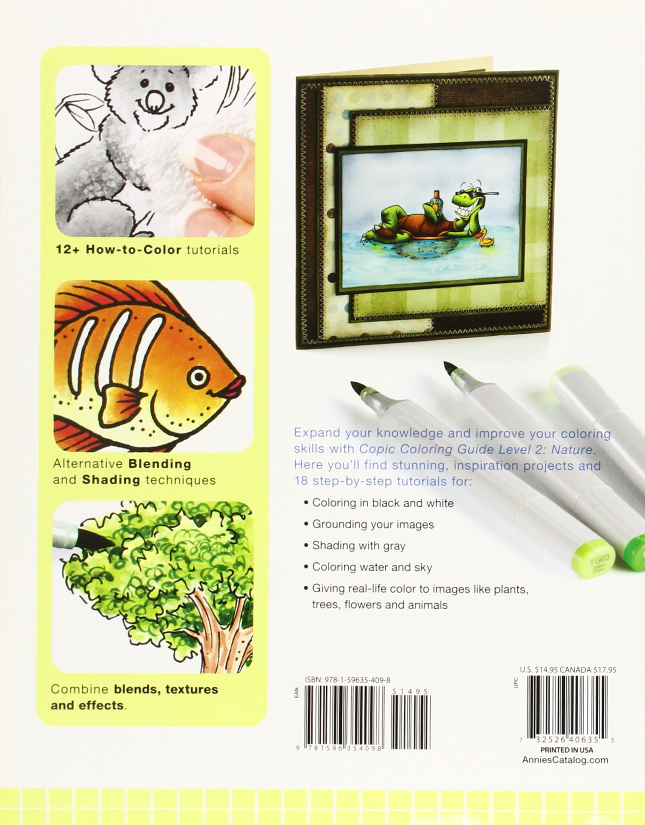 Buy Copic Coloring Guide Level 2: Nature Book Online at Low Prices ...