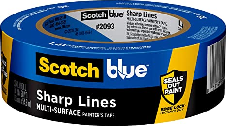 ScotchBlue Sharp Lines Multi-Surface Painter's Tape