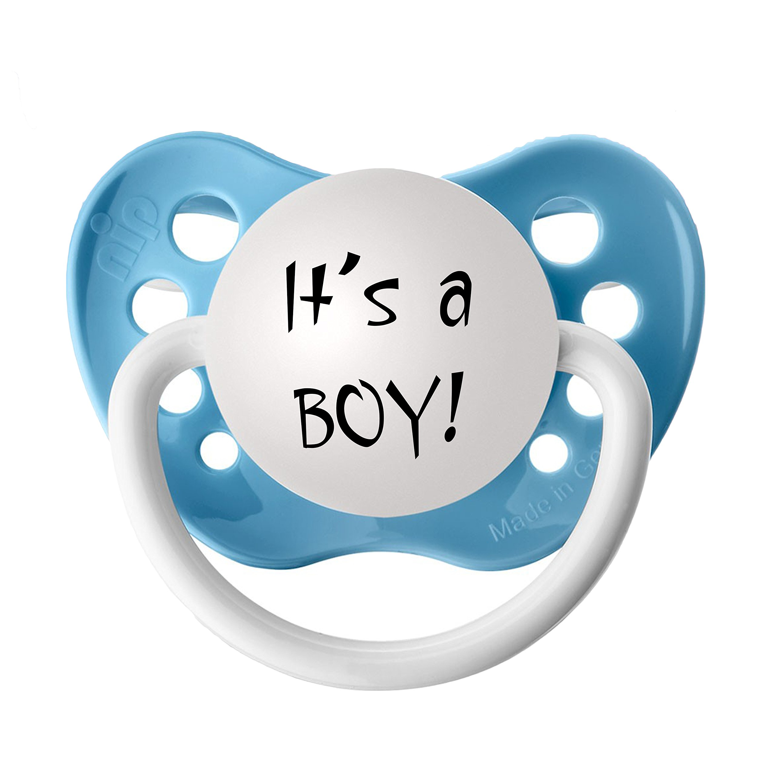 It's a BOY! Gender Reveal Pacifier Set (20 Pack, Blue)