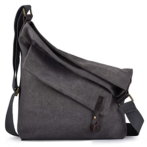 fba6915340d9 Coofit Canvas Bag for Women Crossbody Bag Messenger Bag Shoulder Bag Hobo  Bag Unisex  Amazon.ca  Shoes   Handbags