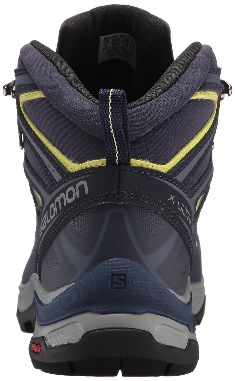 Salomon Mid Damen X Ultra 3 Mid Salomon GTX W Kletterschuhe, Türkis, X-Large Blau (Crown Blue/Evening Blue/Sunny Lime 000) 6c9948