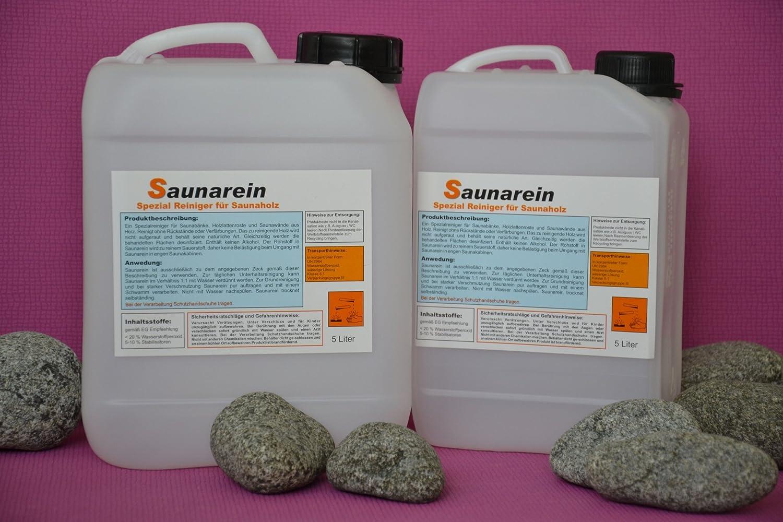 Warda Saunarein Spezialreiniger für Saunabänke 5 l Kanister: Amazon ...