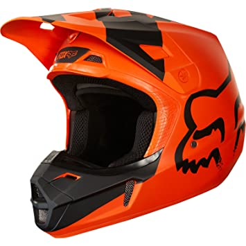 2018 Fox Youth V1 Mastar casco naranja, naranja