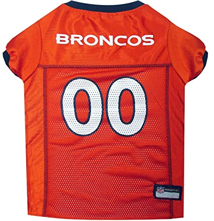 Image Unavailable. Image not available for. Color  Pets First NFL Denver  Broncos Jersey ... face3a508