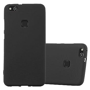 Cadorabo Funda para Huawei P10 Lite en Frost Negro: Amazon.es ...