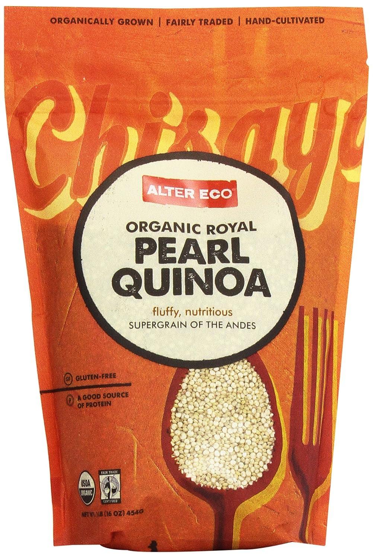 Amazon.com : Alter Eco Organic Royal Pearl Quinoa, 16 Ounce Pouch ...