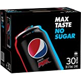 Pepsi Max Cola Soft Drink, 30 x 375ml