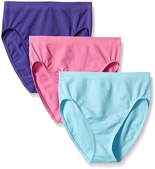 5bfa8f856641f Ahh By Rhonda Shear Women s Seamless High Cut Brief 3 Pack at Amazon ...