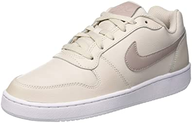 on sale 64912 7222f Nike Damen Wmns Ebernon Low Sneakers, Beige (Desert Sand/Diffused  Taupe/White