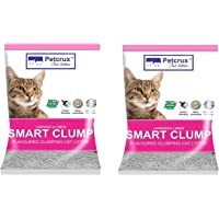 PetCrux Exclusive Scoopable Smart Bentonite Cat Litter, 5Kg (Pack of 2 - Total 10 kg)