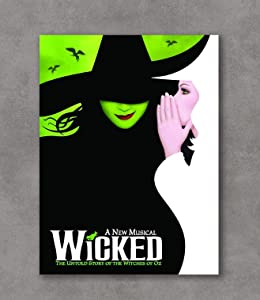 Kai'Sa Wicked Poster Broadway Musical Promo Art Print Posters,18''×24'' Unframed Poster Print