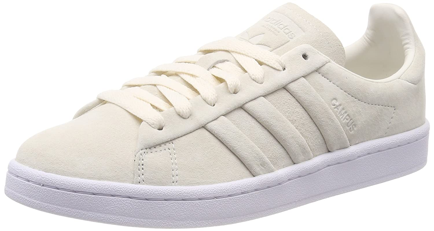 blancoo (Chalk blanco Chalk blanco Footwear blanco) 44 EU adidas Campus Stitch and Turn, Zapatillas para Hombre