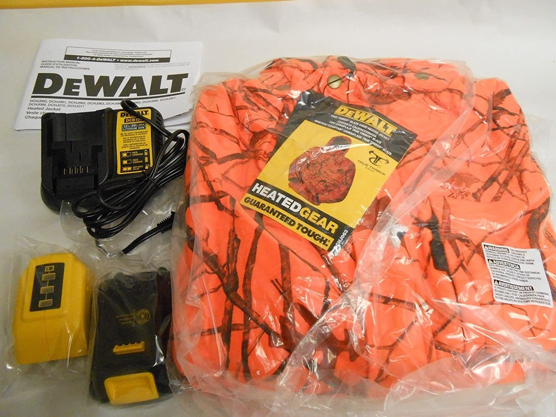 Amazon.com: NEW Dewalt Heated (Timber Blaze) Jacket Kit (Large) DCHJ063C1-L NEW 12V/20V ;(from_davidstoolsandmore: Kitchen & Dining