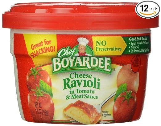 Chef Boyardee Cheese Ravioli B...