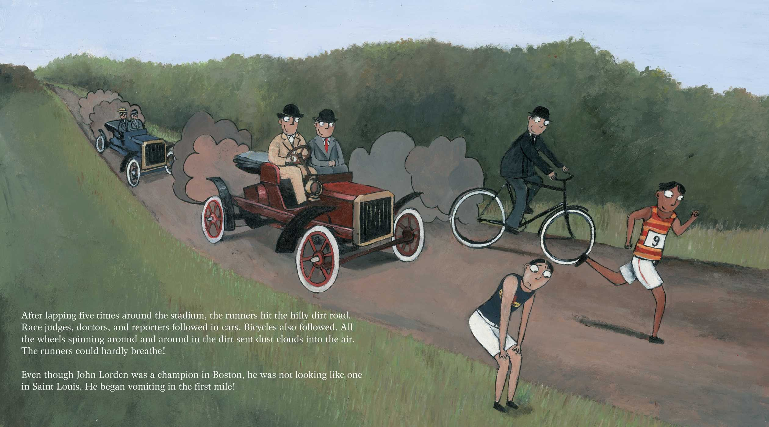The Wildest Race Ever: The Story of the 1904 Olympic Marathon by Simon & Schuster/Paula Wiseman Books (Image #6)