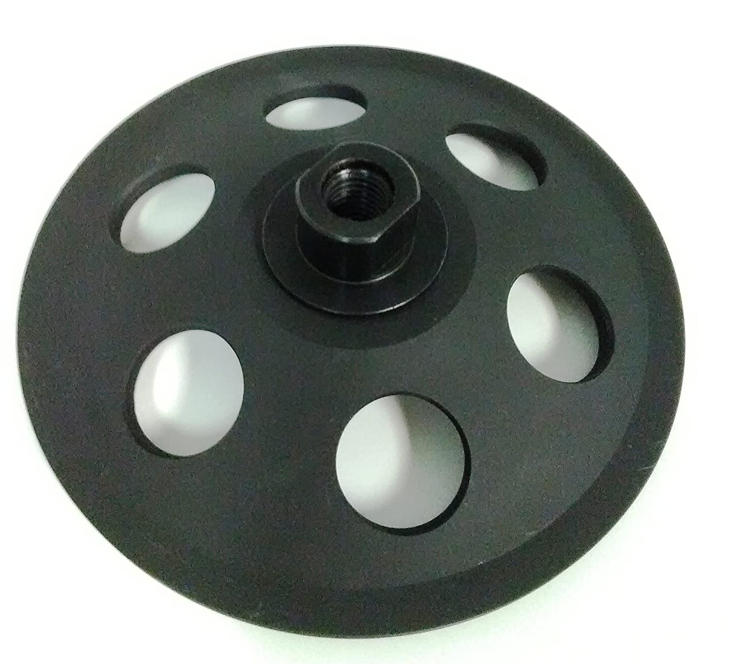 Paint and Mastic 8 Segments Glue 5-Inch PCD Cup Wheel Grinder 5//8-11 Threaded Poly Crystaline Cup for Removing Epoxy