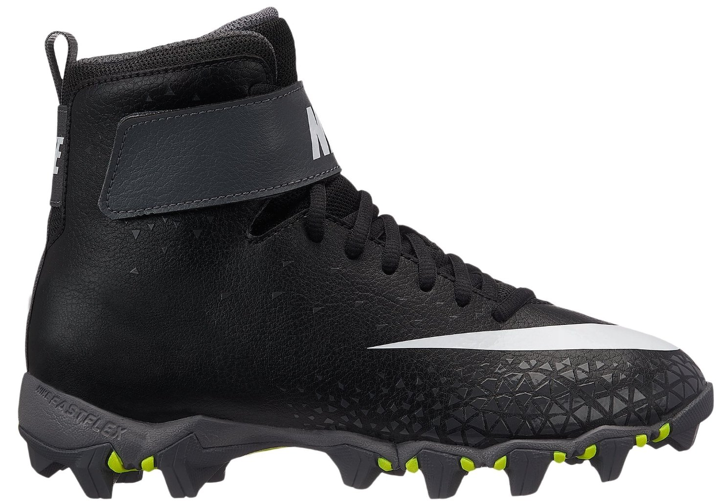 Nike Kids' Force Savage Shark Football Cleats(Black/Grey,2k)