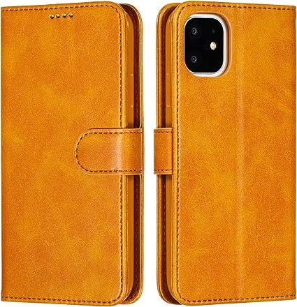 Housse coque iphone 11 jaune
