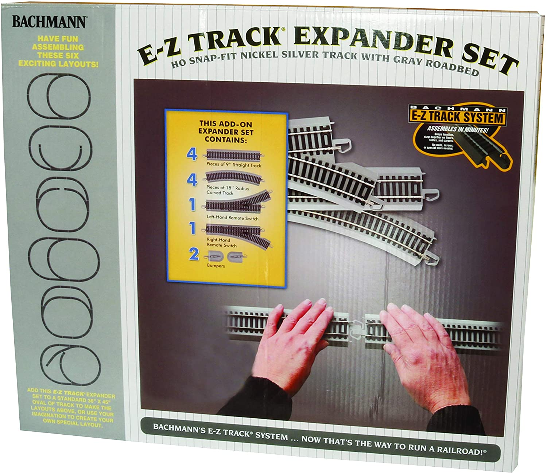 HO Bachmann Train Train Track Lot 6 Pieces EZ-Track Straight 2 Rerailers