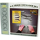 Bachmann Trains SnapFit EZ TRACK LAYOUT EXPANDER SET NICKEL SILVER Rail With Grey Roadbed HO Scale