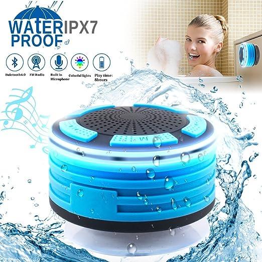 Review Bluetooth Shower Speaker Waterpoof