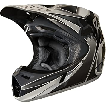 19518-006-S - Fox Racing V3 Kustm Motocross Helmet S Grey