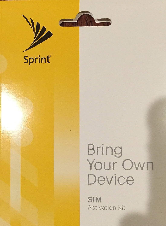 amazon com sprint sim activation kit cell phones u0026 accessories