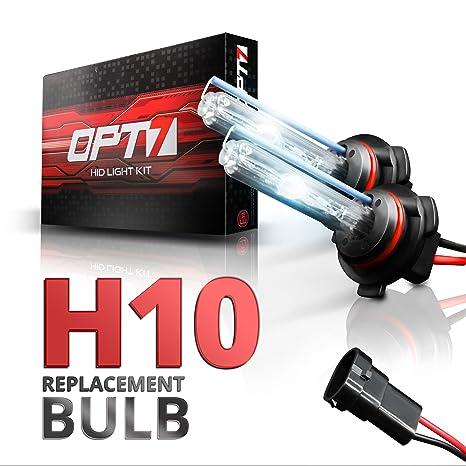 OPT7 AC 55w 9006 HID Kit Headlight Conversion BulbsAll Xenon Light Colors