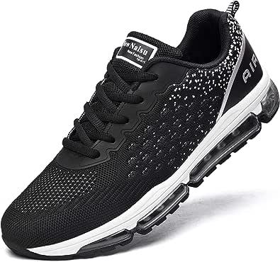 NewNaisu Zapatillas deportivas para hombre y mujer, con acolchado de aire, transpirables, ligeras, para correr, para correr, para hacer deporte.
