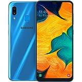 Samsung Galaxy A30 Dual SIM - 64GB, 4GB RAM, 4G LTE, Blue