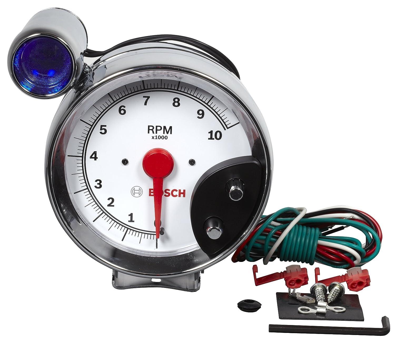 Bosch SP0F000029 Sport III 5 Tachometer White Dial Face
