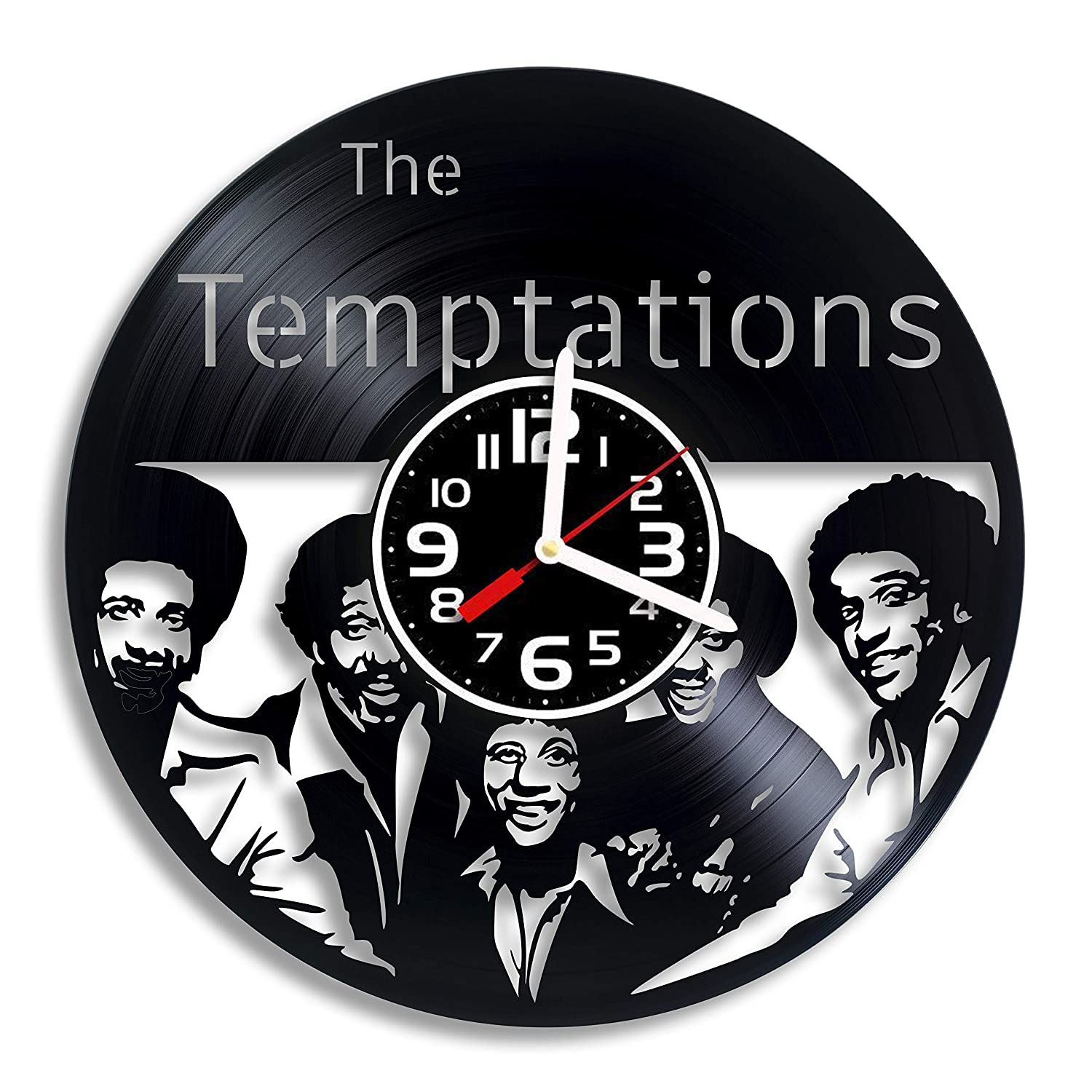The Temptations Soul Music Art The Temptations Gift For Any Occasion The Temptations Funk Band RaduPUSH The Temptations Vinyl Wall Clock