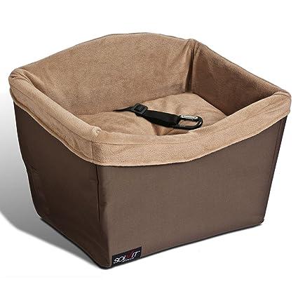 Amazon.com : Solvit Jumbo Pet Safety Seat, Standard : Automotive Pet ...